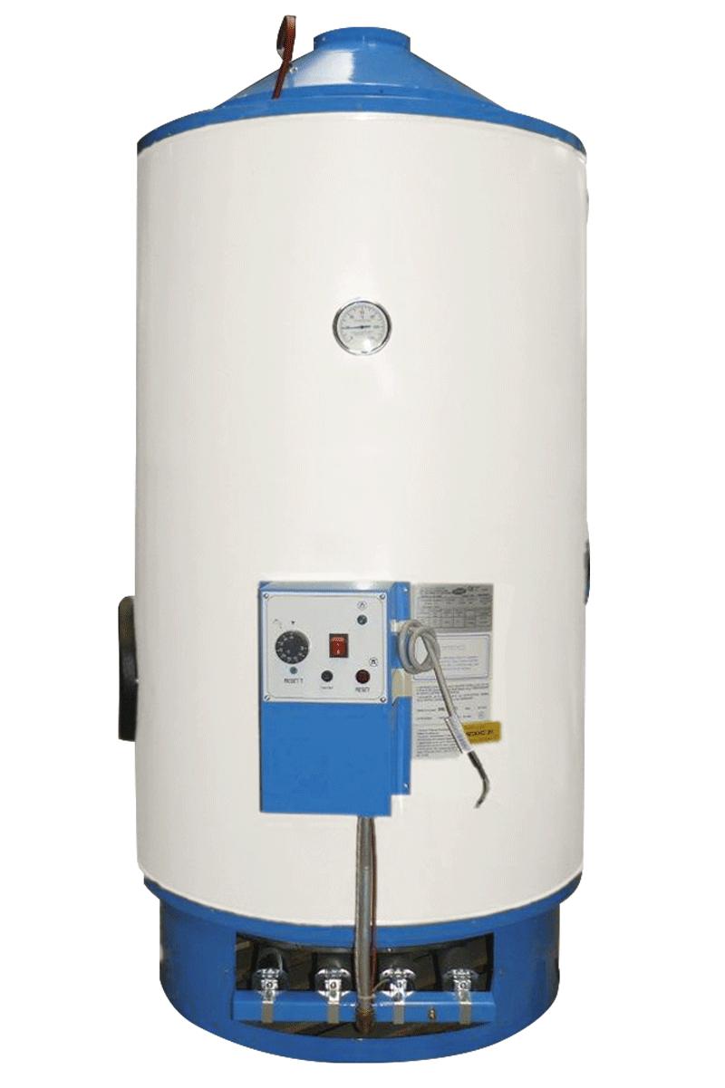 BGPE-300-400-500 - Scaldacqua TIRAGGIO NATURALE - ACCENSIONE ELETTRONICA