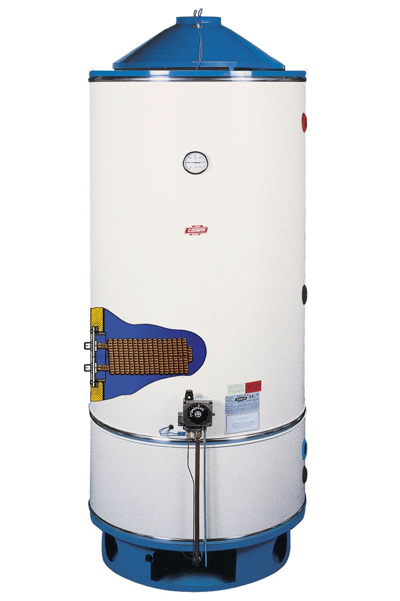 BTG 150-1000 - Scaldacqua TIRAGGIO NATURALE - fiamma pilota - vetroporcellanato