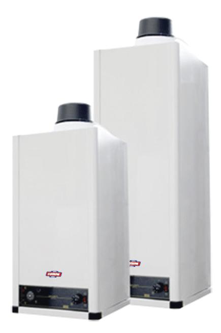 GTF 80-120 - Scaldacqua a gas uso civile tiraggio forzato - vetroporcellanato