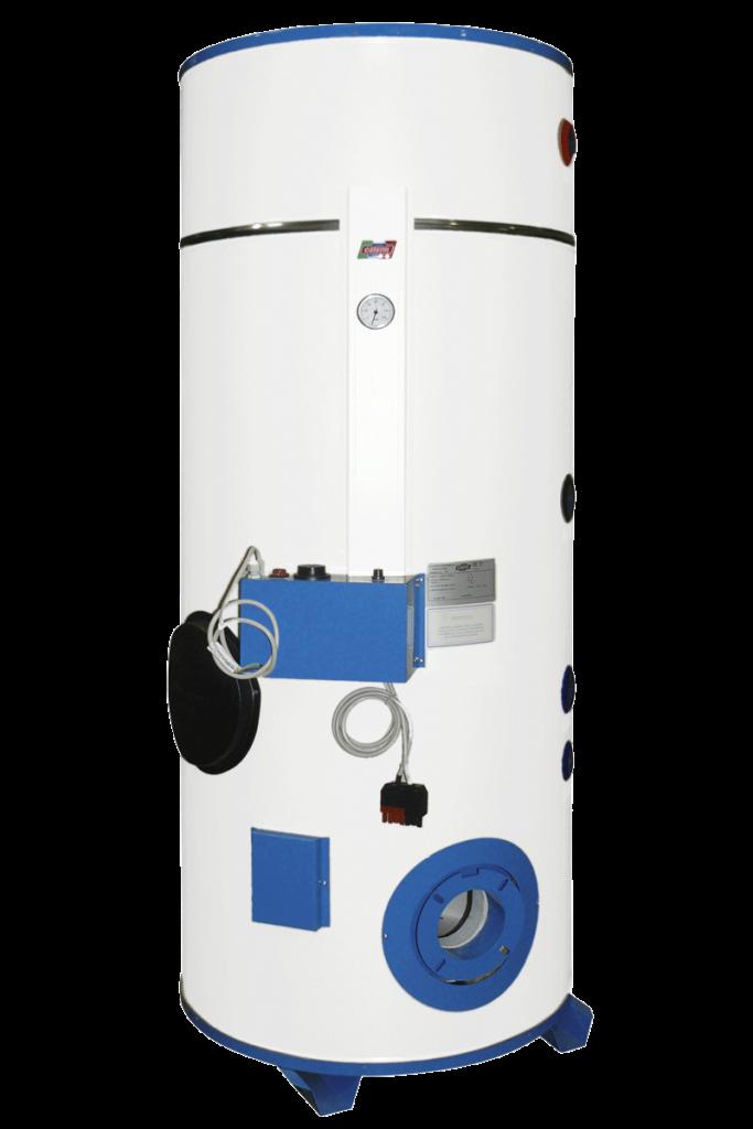 Serie S - Scaldacqua gas e gasolio, bruciatore soffiato - vetroporcellanato
