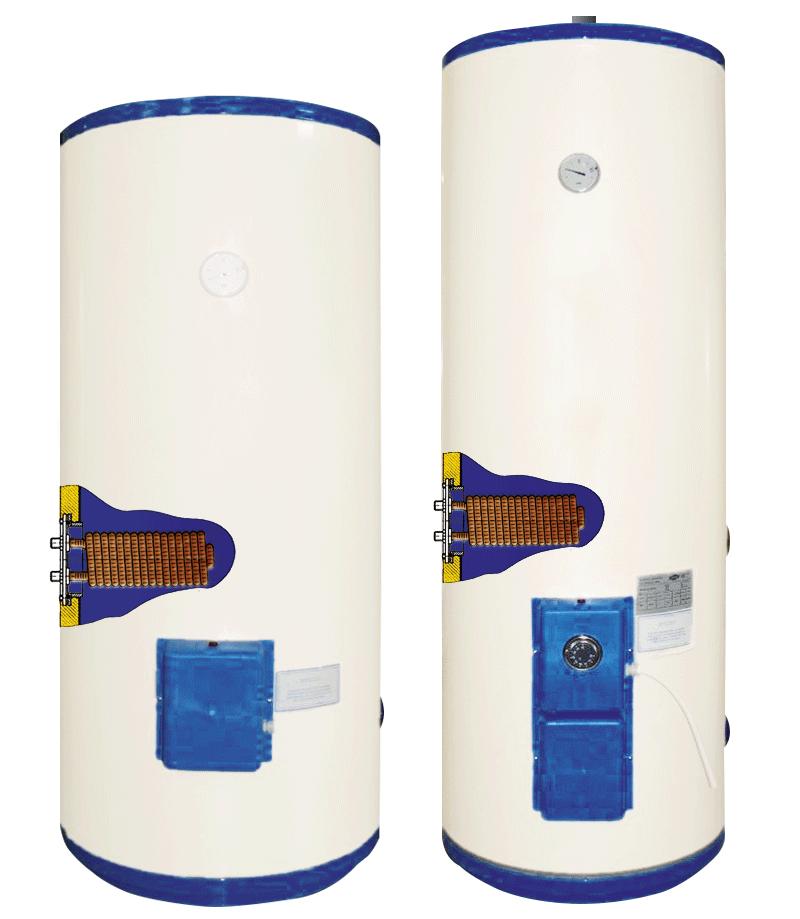 BTE - scaldacqua elettrici uso industriale - vetroporcellanato