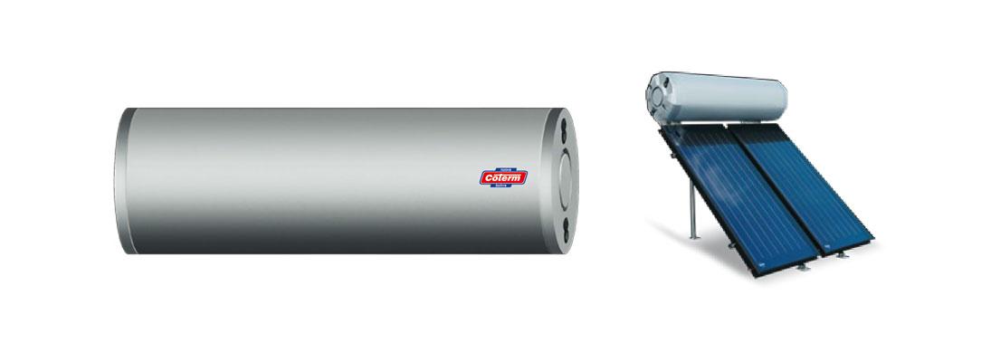Bollitori-boilers BSLC - con 0 - 1 - 2 serpentine per solare termico