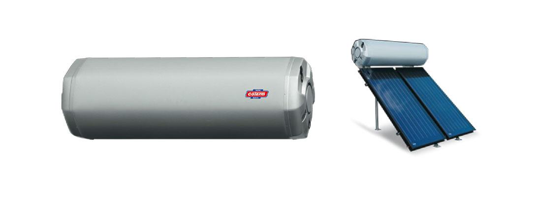 Bollitori-boilers BSLO - con 0 - 1 - 2 serpentine per solare termico