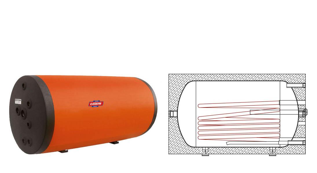 Bollitori-boilers SPO - con 1 serpentina